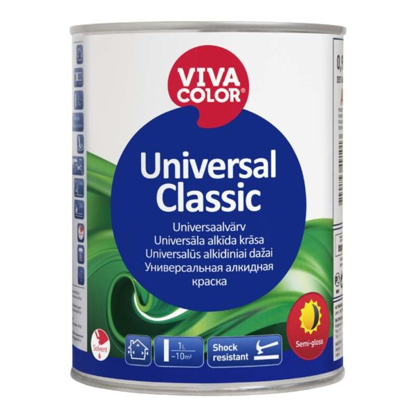 Universal Classic semi gloss