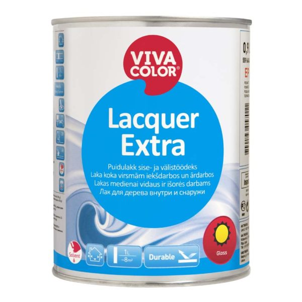 Lacquer Extra Gloss