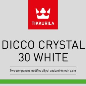 Tikkurila Dicco Crystal 30 White