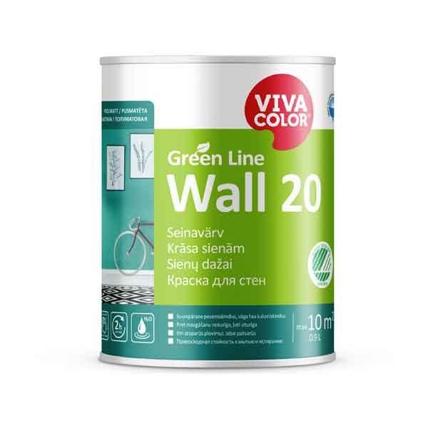 Vivacolor Green Line Wall 20