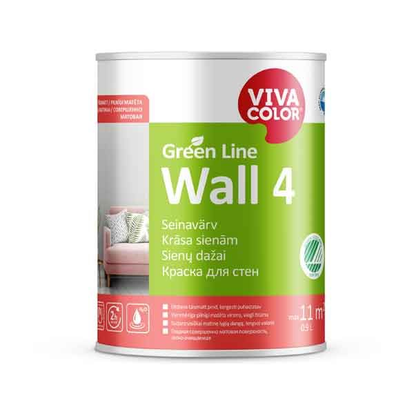 Vivacolor Green Line Wall 4