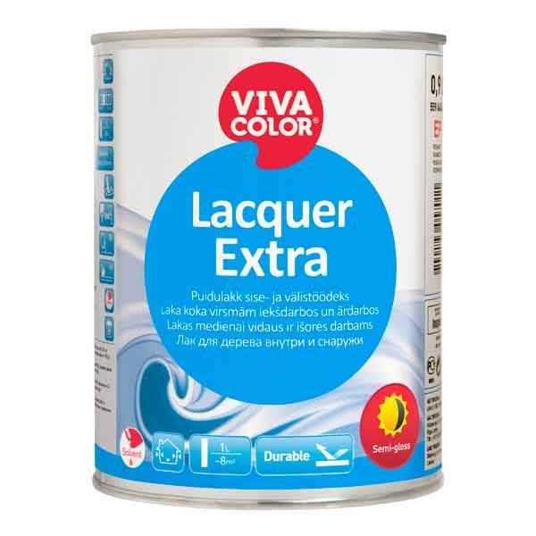 Vivacolor Lacquer Extra Semigloss