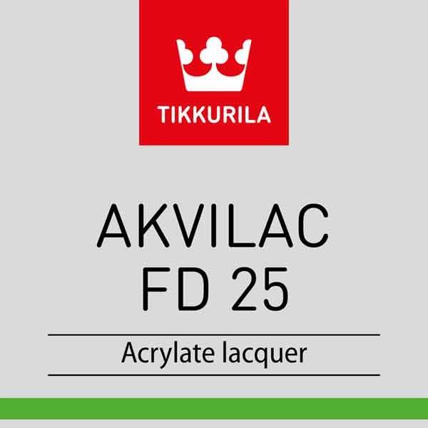 Tikkurila Akvilac FD25