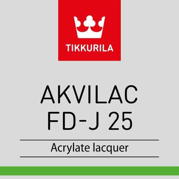 Tikkurila Akvilac FD-J 25