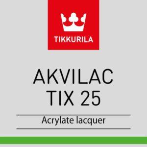 Tikkurila Akvilac TIX 25