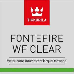 Tikkurila Fontefire WF Clear