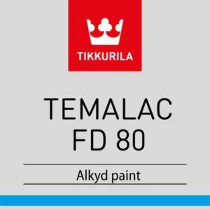 Tikkurila Temalac FD 80